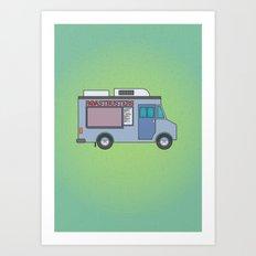 Roastbusters Art Print