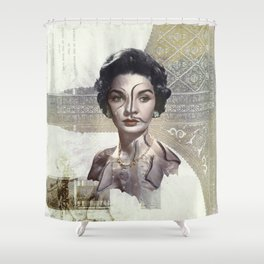 Queen of Egypt / Surrealism Shower Curtain