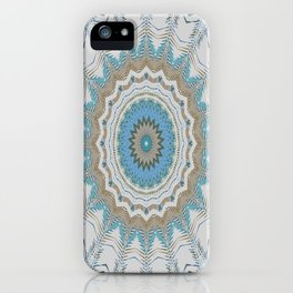 Dreamcatcher Teal iPhone Case