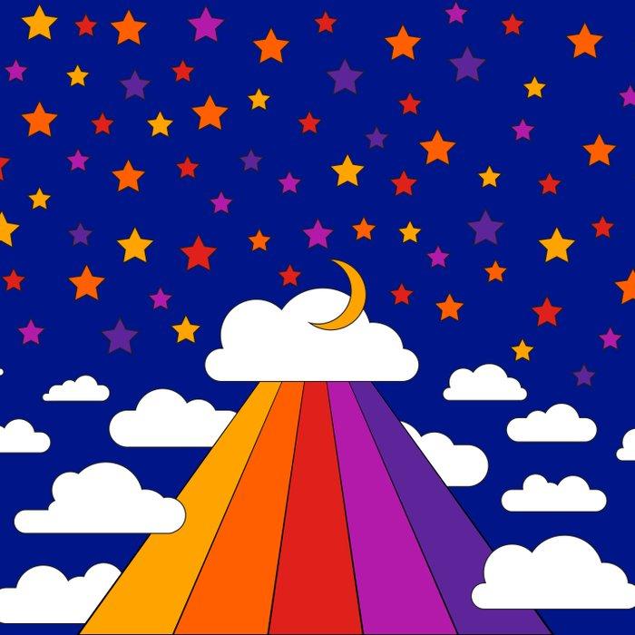 Starry Sky Duvet Cover