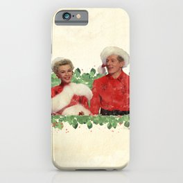 Phil & Judy (White Christmas) iPhone Case