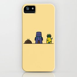 Spongebob's House iPhone Case