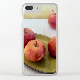 Composizione di mele. Apple composition. Compostion de la pommes Clear iPhone Case