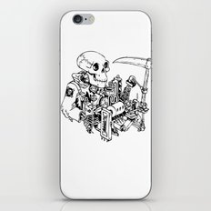Grim Reaper - Power Scythe iPhone & iPod Skin