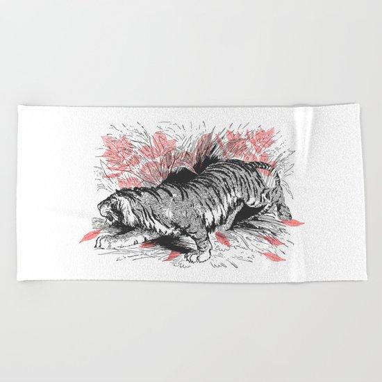 Tiger 2 Beach Towel