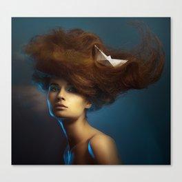 Portrait. Canvas Print