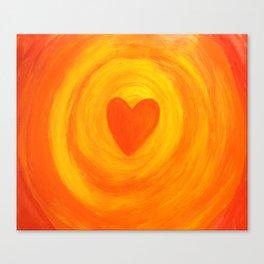 I  Embrace MY LOVE Canvas Print