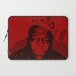 The Notorious BIG: King OF Brooklyn Laptop Sleeve