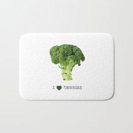 Broccoli - I love veggies Bath Mat