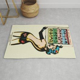 Vintage 1978 Rolling Stones - Some Girls - Concert Poster Rug