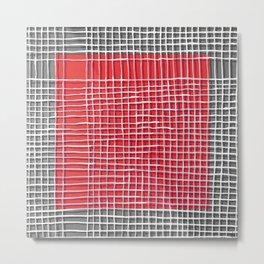 Left - gray Metal Print