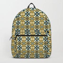 Geometrical flowers Backpack
