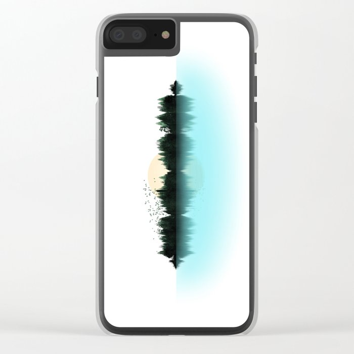 The Sounds of Nature Clear iPhone Case