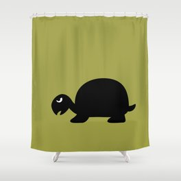 Angry Animals: Tortoise Shower Curtain