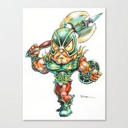 The Darkslayer  (Venir) - Super Head by RAK Canvas Print