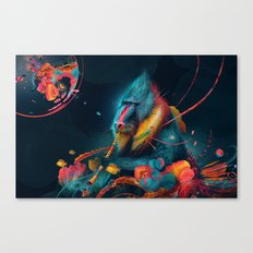 color madril Canvas Print