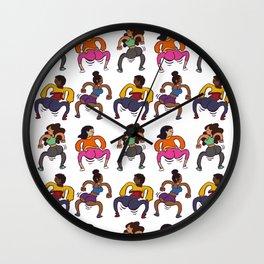 Booty Butt Cheeks Wall Clock