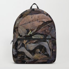 Autumn Leaves in Deep Forest Backpack
