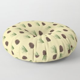 Pine cone pattern Floor Pillow