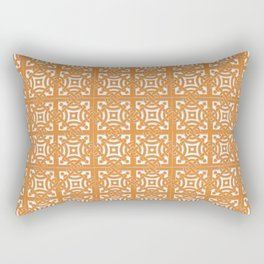 Spanish Azulejos Design Rectangular Pillow