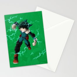 Deku - One for all Stationery Cards