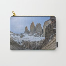 The Base of the Towers II   Torres del Paine National Park, Patagonia Carry-All Pouch