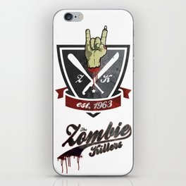 The Zombie Killers iPhone Skin