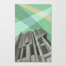 Robarts Library (University of Toronto) Canvas Print