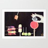 So HOTT, It'll Melt Your Popsicle Art Print