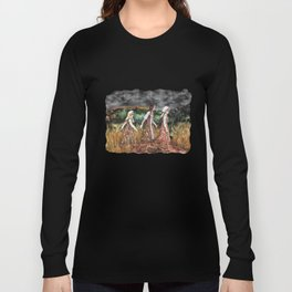Maidens from the deep forest Long Sleeve T-shirt