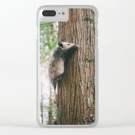 Hanging on Clear iPhone Case