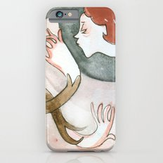 Free Time drawing Slim Case iPhone 6s