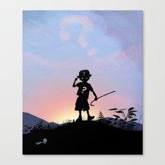 Riddler Kid Canvas Print