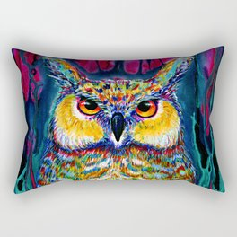 HORNED OWL Rectangular Pillow