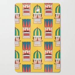 Nut Crackin' Army (Patterns Please) Cutting Board