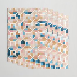 Mediterranean Geometric Shapes I. Wrapping Paper