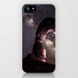 Watching stars iPhone Case