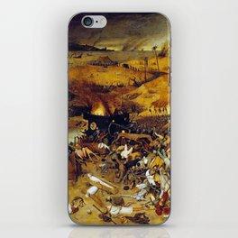 Bruegel the Elder The Triumph of Death iPhone Skin