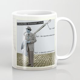 Cigarette Exhaust Pipe Coffee Mug