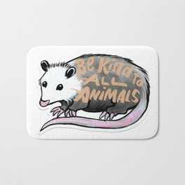 Awesome Possum  Bath Mat