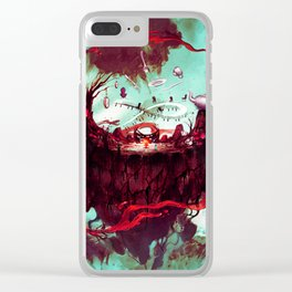 fantasy world Clear iPhone Case