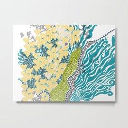 Beehive Island Metal Print