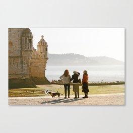 LISBON, Torre de Belem Canvas Print