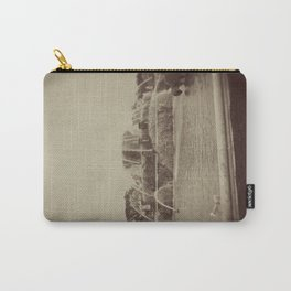 Chicago Buckingham Fountain Sepia Photo Carry-All Pouch