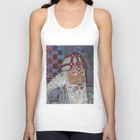 viking Tank Tops featuring Viking by Shana Conroy aka Wisccheeto