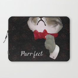 The Purr-fect Attire Laptop Sleeve