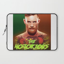 The Notorious Conor McGregor by Big Foot Studios Laptop Sleeve