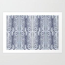 Mackerel skin Art Print