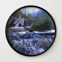 The Desperate Kingdom of Nature Wall Clock