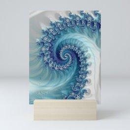 Sound of Seashell - Fractal Art Mini Art Print
